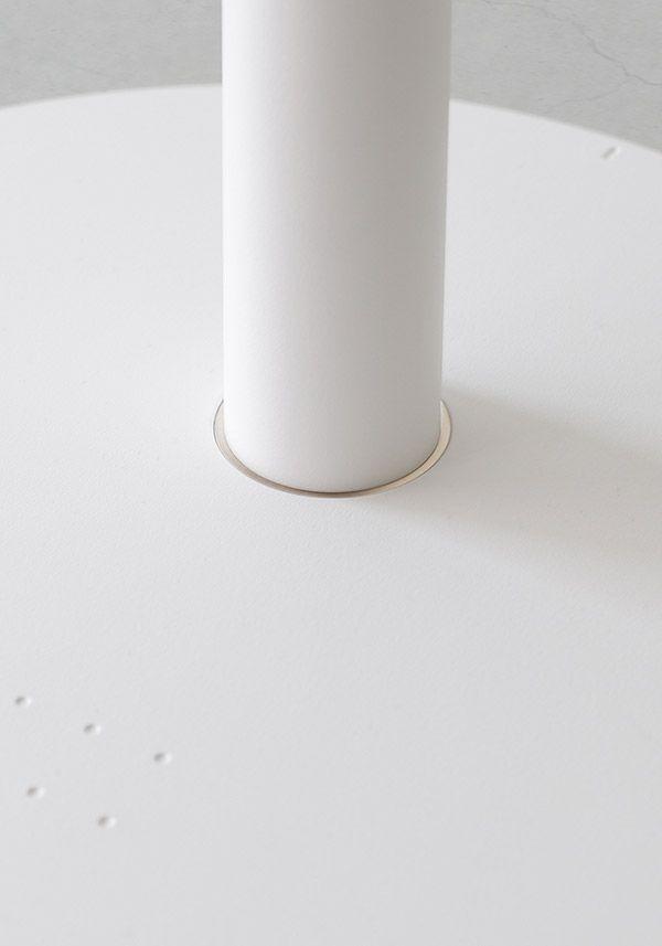 BALMUDA GreenFan Japan | 限定生産カラー「シャンパンゴールド」| ベースと中間ポールの接合部分も、同じシャンパンゴールド仕様です。
