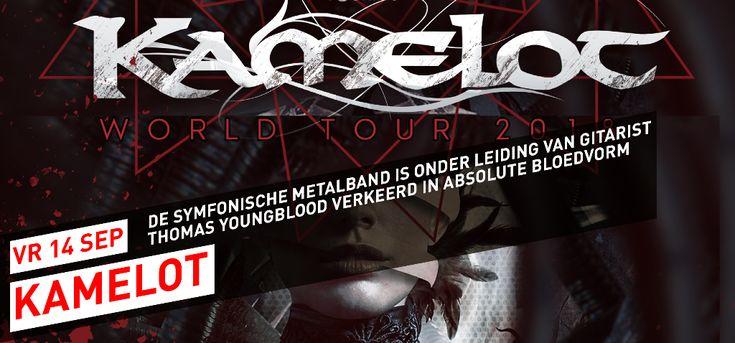 013 Poppodium | Nieuwe namen Roadburn Festival 2018, de symfonische metalband Kamelot keert terug naar 013, win VIP tickets voor Markiplier