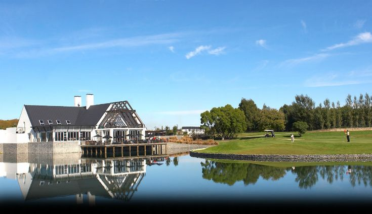 Clearwater Resort Christchurch, lakefront luxury.