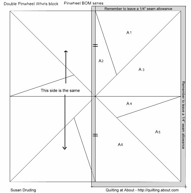 Imaginesque: Quilt Block 6: Pattern and Templates