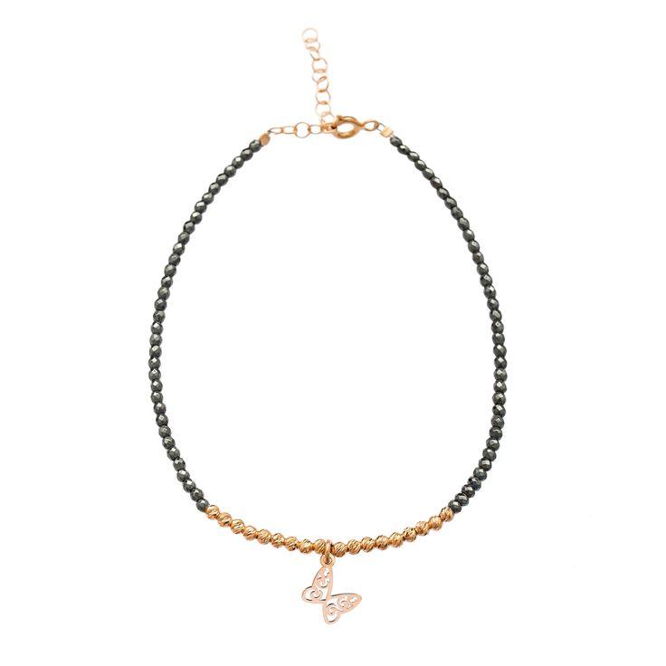 Hematite Jewelery New Design Butterfly Hot Sale Bracelet 925 Silver Jewelry
