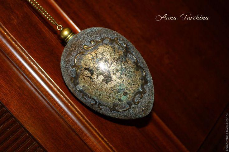 Купить Подвеска интерьерная - комбинированный, золотой, серебряный, имитация, имитация металла, интерьерное украшение, подвеска