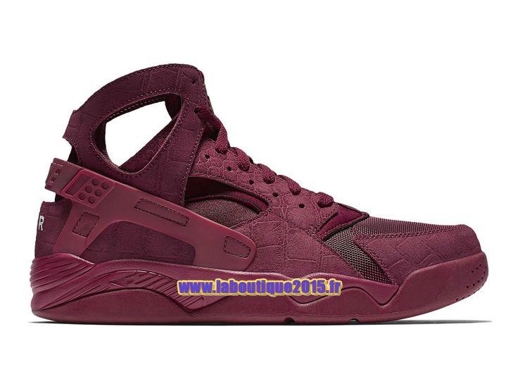 Officiel Nike Air Flight Huarache - Chaussure de Nike Basket-ball Pour Homme  Rouge équipe