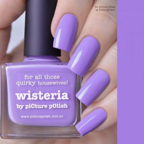 piCture pOlish : Picture Polish Wisteria (reborn) Shop here- www.color4nails.com Worldwide shipping available