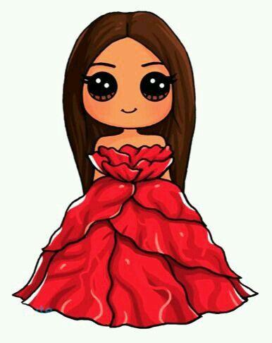 Prenses Kawai çizim Kawaii Girl Drawings Cute Drawings Ve Cute