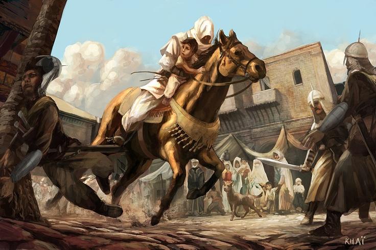 Assassin's Creed 1 (PS2, Xbox) - Concept Art