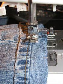 faire des ourlets de jeans bien