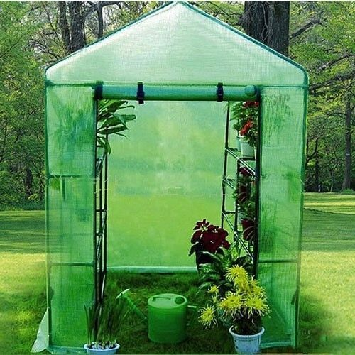 Portable Greenhouse Walk-In Green House Kit Seasonal Growth Plants Flowers 57x57 #Unbranded