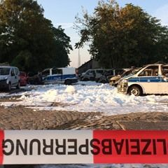 Total of 18 cars torched at Magdeburg Police Station