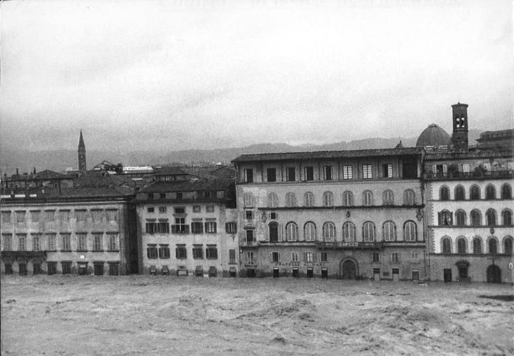 Florence, Italy flood on November 4th, 1966