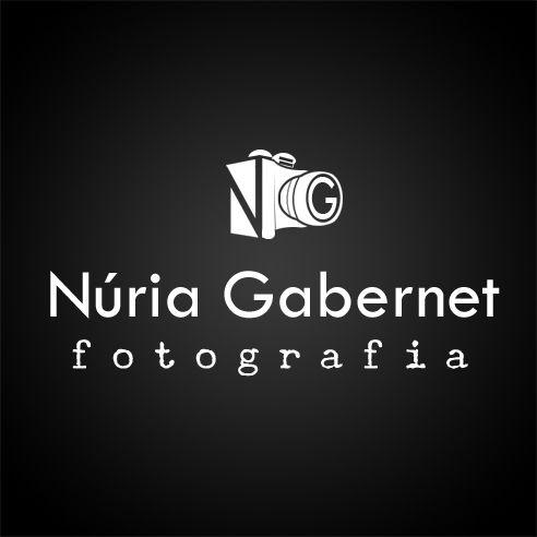 Logo per la fotògrafa Núria Gabernet