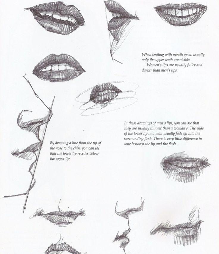 15 besten malen bilder auf pinterest anleitungen lippen zeichnen und wolle. Black Bedroom Furniture Sets. Home Design Ideas