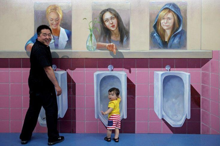 Cina, l'opera esce dalla tela: l'arte in 3D