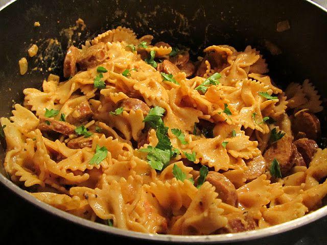 Surf & Turf Cajun Pasta Recipe — Dishmaps