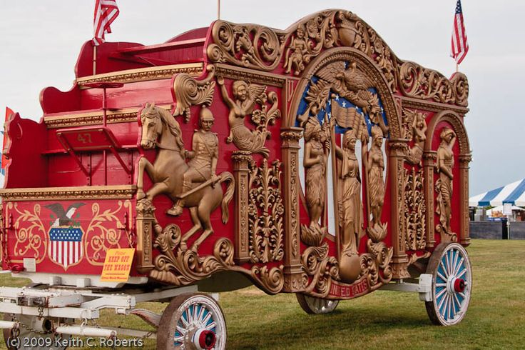 "Since you are a ""blood"" Barnum, you out to start a circus page.  Although I am sure you would want things that primarily related to ""Barnum & Bailey"" other things like this circus wagon would be fun to have.  :)"