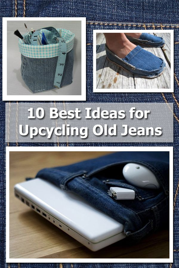 It's time to deconstruct with these jean refashioning projects. All of these sewing projects are useful and durable so set aside a little time and bring your denim back to life.