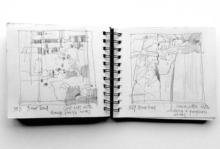 British artist Jean Davey Winter talks about how she uses line work to explore composition in her sketchbooks