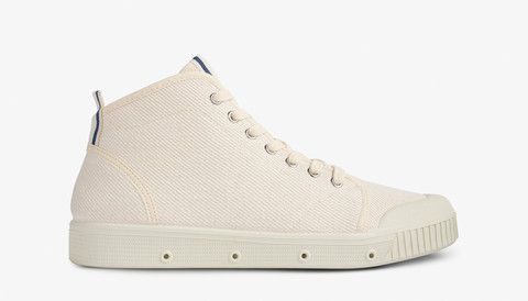 B2S Canvas Twill - Off White / Blue Strap  http://www.springcourt.com.au/