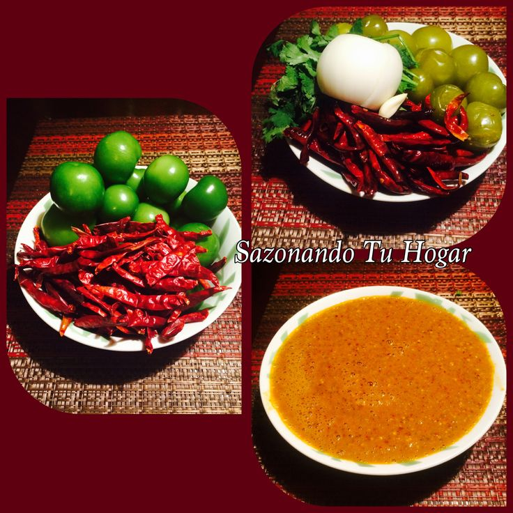 Salsa diabla taquera Receta - Mary S Cuellar ☑️Comparte en tu muro para que se guarde la receta YummiEnjoy Ingredientes 15 - Tomatillos verdes 30- Chiles de arbol ( elija su cantidas de chiles que tan picosa le guste) 1/2-Manojo de cilantro 1/2-Cebolla 1 -Diente de ajo 1/2-Taza de agua Sal 1 -Cuchara sopera de aceite Preparacio✔️✔️ Primero le quitaremos las hojas alos tomatillos y los lavamos muy bien y en una olla los ponemos a hervir a fuejo medio retiran del fuego