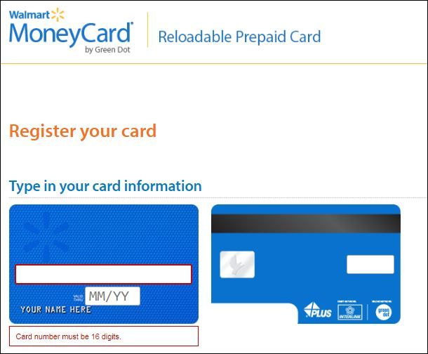 How To Put Money On A Prepaid Card At Walmart