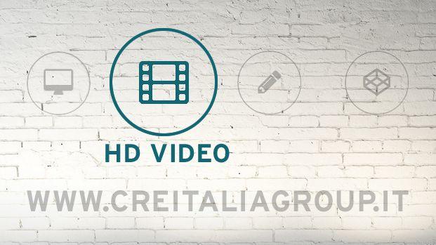 Con un #VideoFullHD la comunicazione è dinamica, accattivante e veloce. Creitalia sa valorizzare il lato creativo del tuo prodotto grazie alla vasta scelta di soluzioni video che offre.  Mettici subito alla prova!
