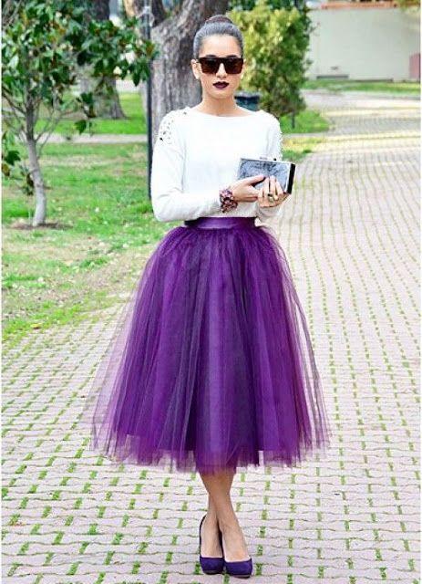 Resultado de imagen para faldas de tul
