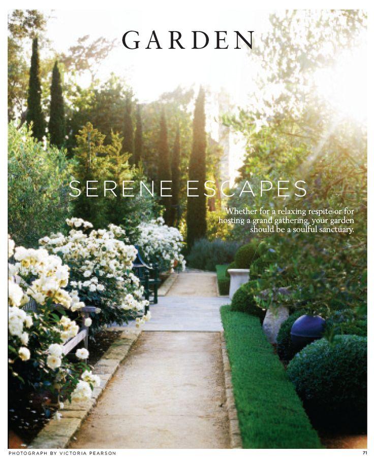 BEST OF Garden: Serene Escapes ‹ Santa Barbara Magazine Image via: http://pinterest.com/source/sbmag.com