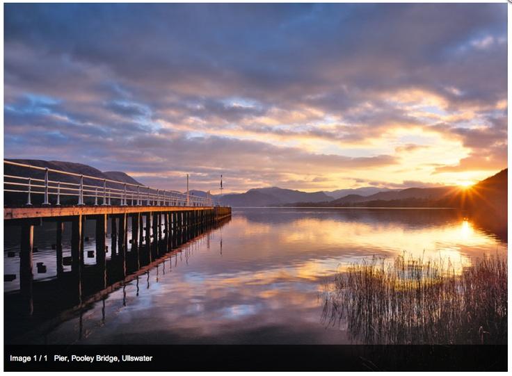 Joe Cornish Ullswater Sunset - Stunning