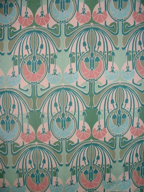 CHARLES RENNIE MACKINTOSH ART DECO FABRIC