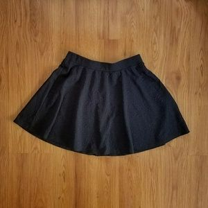 I just added this to my closet on Poshmark: NWOT Joe B floral textured black circle skirt. Price: $15 Size: M