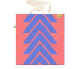 OCEAN BLUE   Screen printed eco-friendly bag   by BAGNANAS