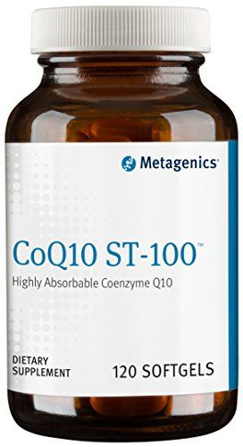 "CoQ10 ST-100 features a stabilized encapsulation of coenzyme Q10 (CoQ10) designed specifically for stability, purity, and bioavailability.   	 		 			 				 					Famous Words of Inspiration...""The function of RAM is to give us guys a way of deciding whose computer has the biggest, studliest,... more details at http://supplements.occupationalhealthandsafetyprofessionals.com/supplements-2/antioxidants/coq10/product-review-for-metagenics-coq10-st-100-softgel-120-count/"