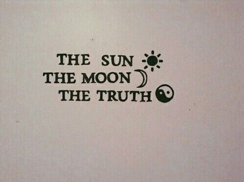 O Sol, a Lua e a Verdade