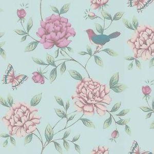 Shabby Chic Wallpaper Designs Study Pattern Mix