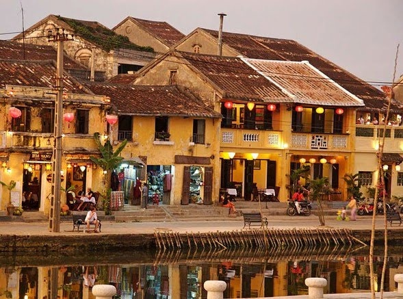 Hoi An, Vietnam. My favorite little city in Vietnam. Friendly people, fun city to visit.