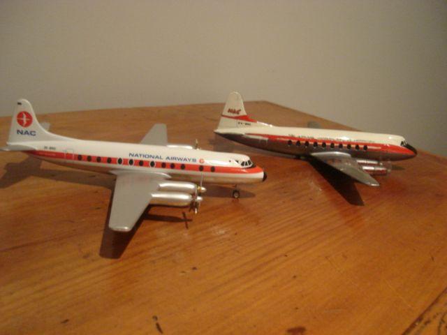 Two NAC Vickers Viscounts