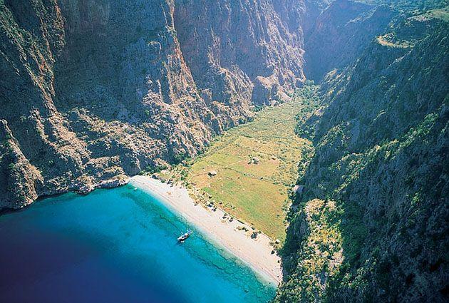 7.Day, Butterfly Valley, Turuncinari Bay, Samanlik Bay, Fethiye, private boat rental, www.barbarosyachting.com