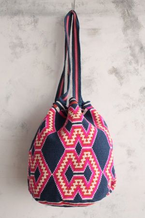 $113 US Dollars or 83 Euros. Includes International Shipping. Each mochila takes 4 days to be knitted. Whatsapp +57 3154833188. Pin: 7a85e20e. Email: mailto:ventas@art.... Catalog in: www.artemalu.com