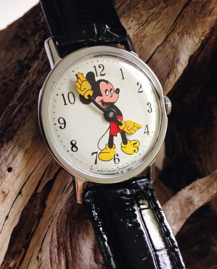 I had this exact watch!...1971 Timex Mickey Mouse Character Watch