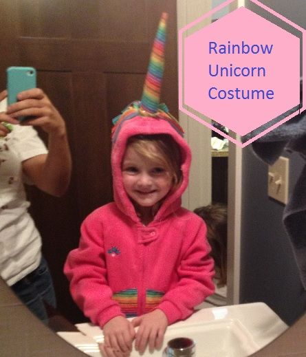 rainbow Unicorn Costume DIY