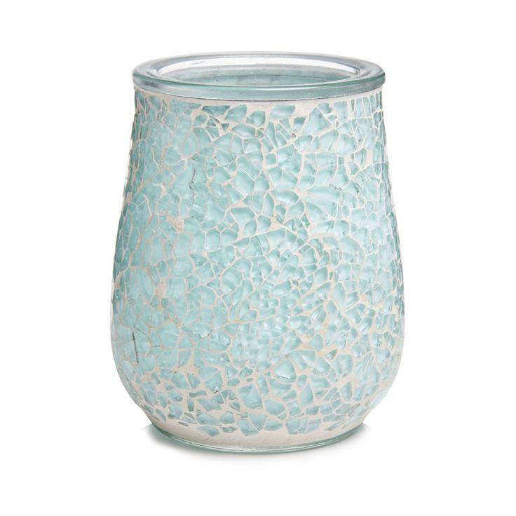 Wilko Mosaic Tumbler Aqua