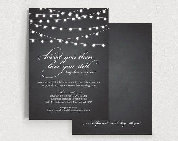Wedding Vow Renewal Invitation Wording Samples: Best 25+ Vow Renewal Invitations Ideas On Pinterest