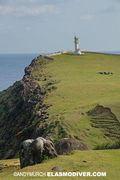 Cape Agarizaki Lighthouse, Yonaguni Island, Japan.