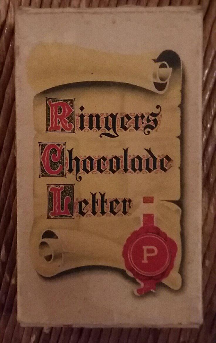 RINGEN chocoladeletter, museum indezevendehemel te Apeldoorn