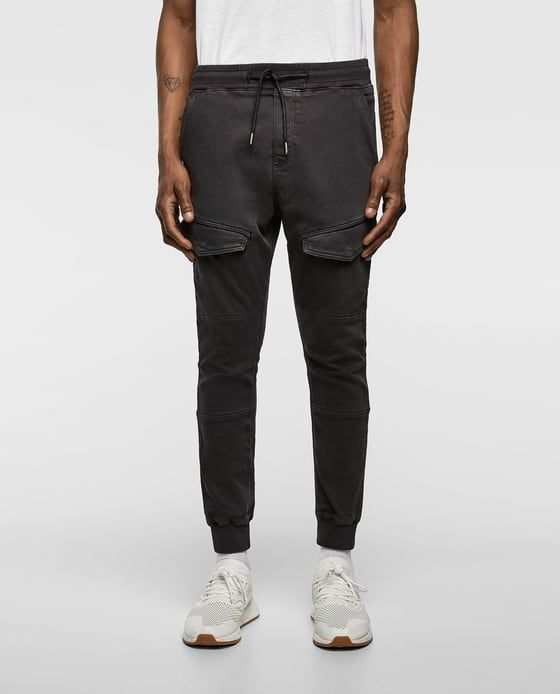 db7a31bebc5 Image 2 of JOGGING TROUSERS WITH POCKETS from Zara Men Trousers, Zara Man,  Ripped