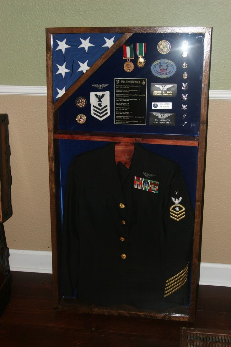 31 best shadow box images on pinterest military life military were thinking of having his dress uniform shirt preserved in a shadow box xflitez Choice Image