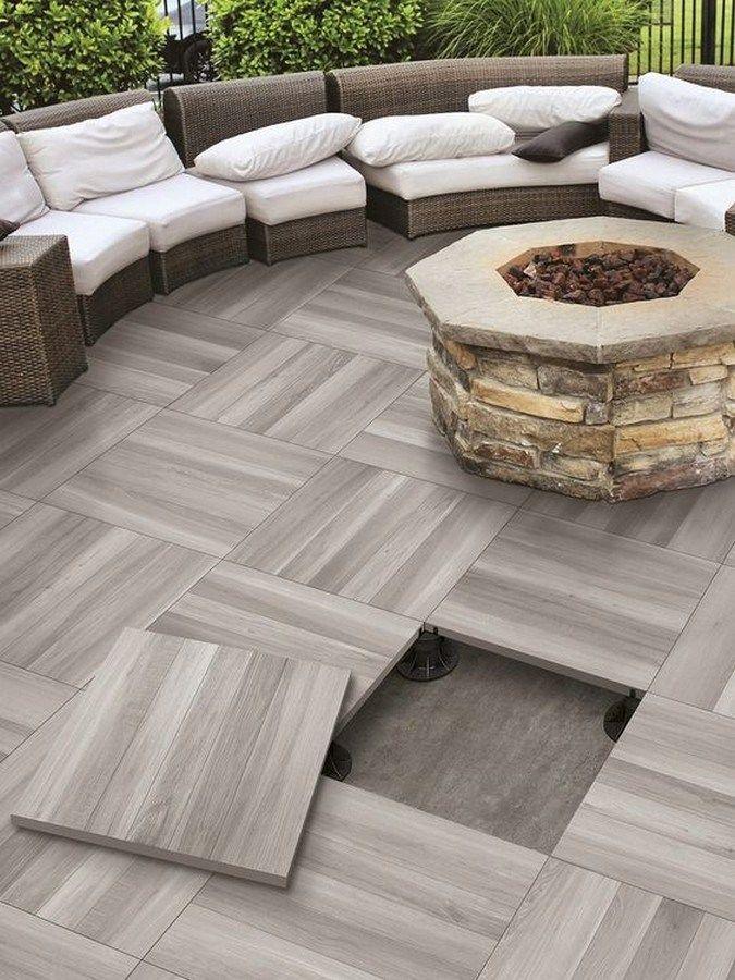Top 35 Outdoor Tile Ideas Trends For 2020 4 In 2020 Patio Tiles Patio Flooring Outdoor Patio Decor