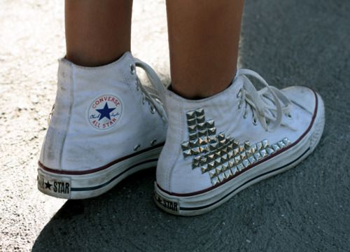 D.I.Y. Studded Converse