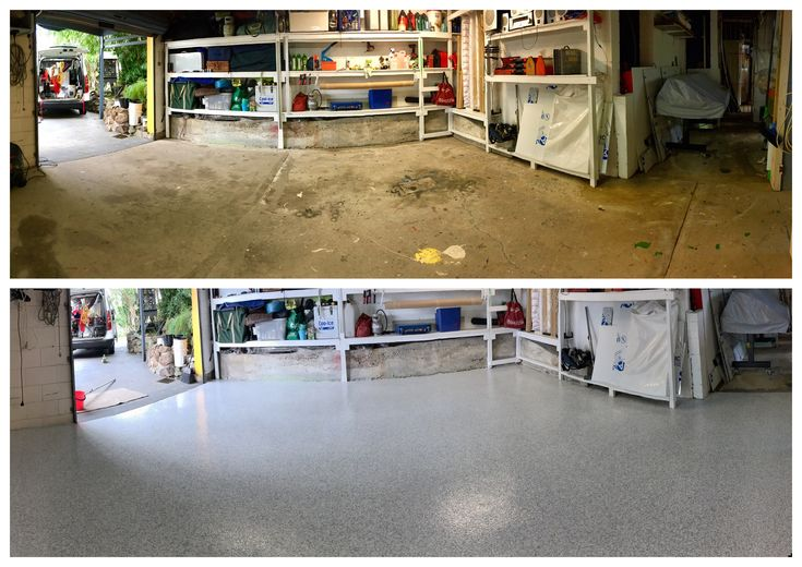 Our epoxy flooring transformation to this workshop has  really changed the appearance of the place!