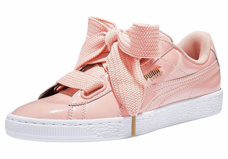 #schuhe #ootd #outfit #fashion #style #online   #Damen PUMA Sneaker »Basket Heart Patent«, 04059504870318
